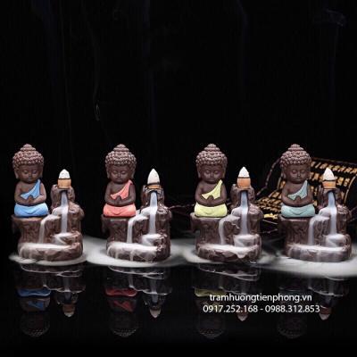 Thác Khói Phật Thiền Áo Màu