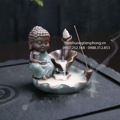 Thác Khói Phật Thiền Xanh Ngọc