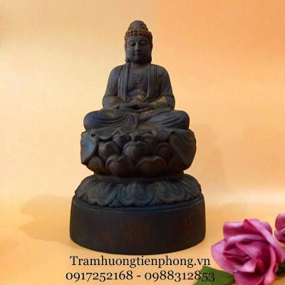 Tượng Phật Như Lai Gỗ Trầm Hương MS1
