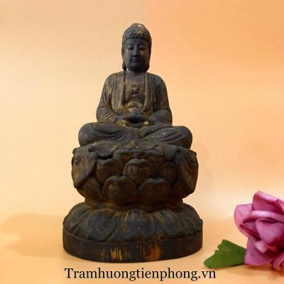 Tượng Phật Như Lai Gỗ Trầm Hương MS2